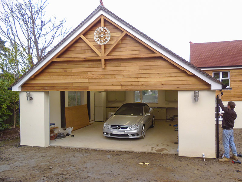 Cornwall carpentry and construction mylor gallery for Construction garage double